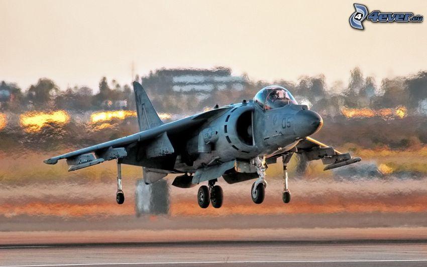 AV-8B Harrier, flygstart