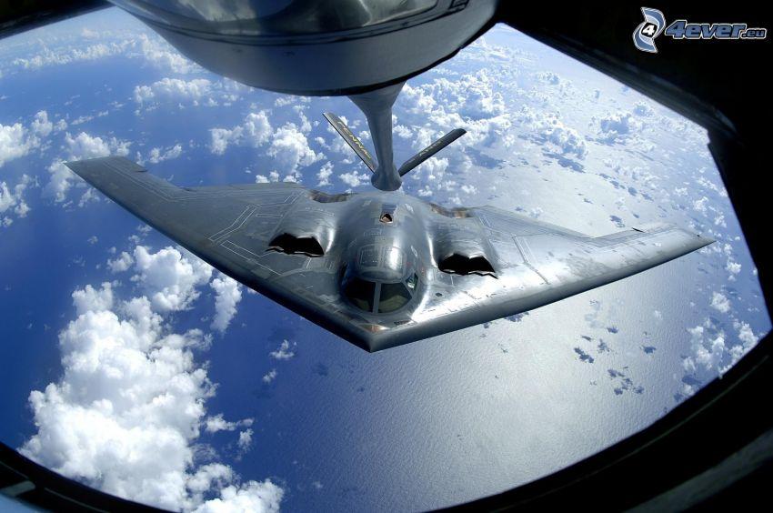 B-2 Spirit, lufttankning