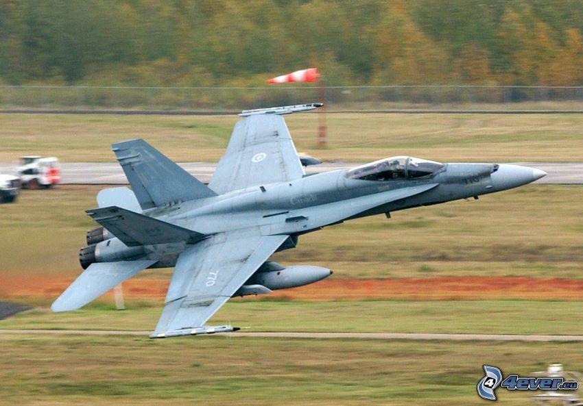 CF-188 Hornet, flygstart