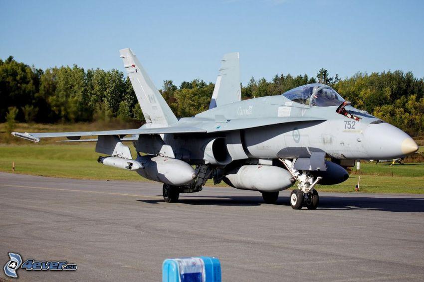 CF-188 Hornet, skog