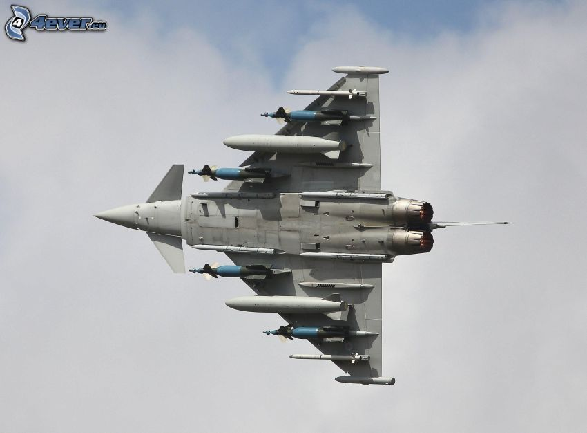 Eurofighter Typhoon, raketer
