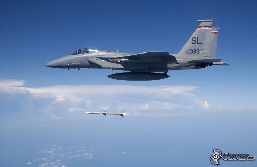 F-15 Eagle, raket