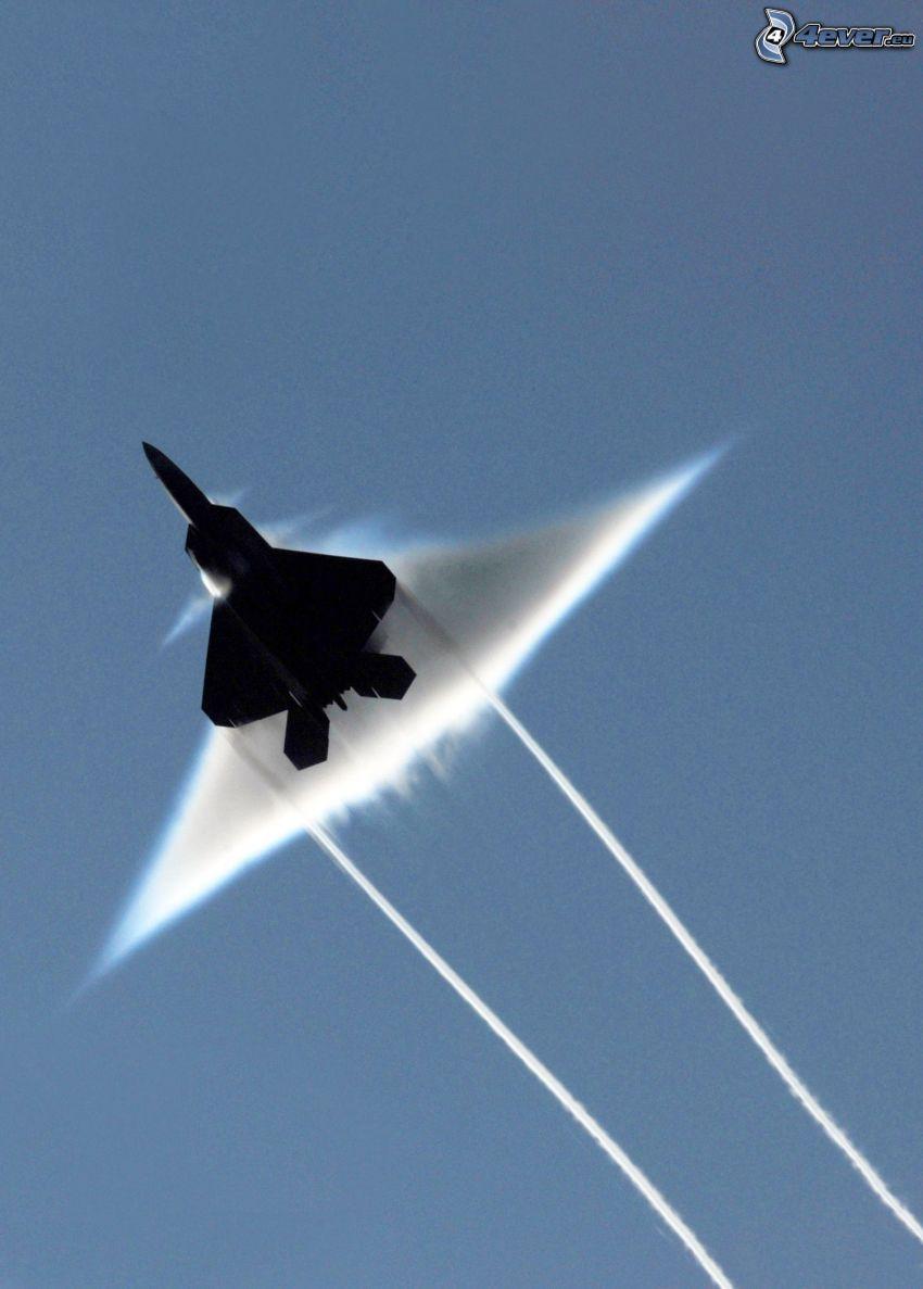 F-22 Raptor, ljudvall