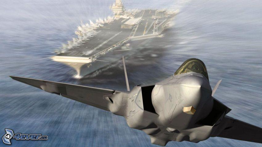 F-35 Lightning II, hangarfartyg