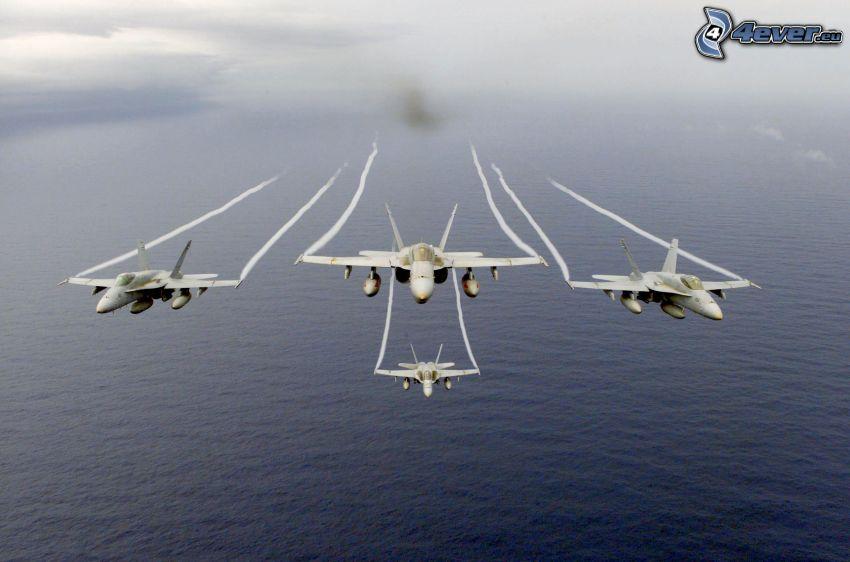 F/A-18 Hornet, hav