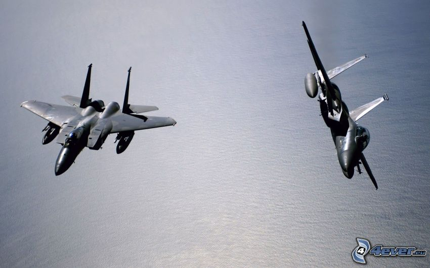 Jaktplan F-15 Eagle, hav