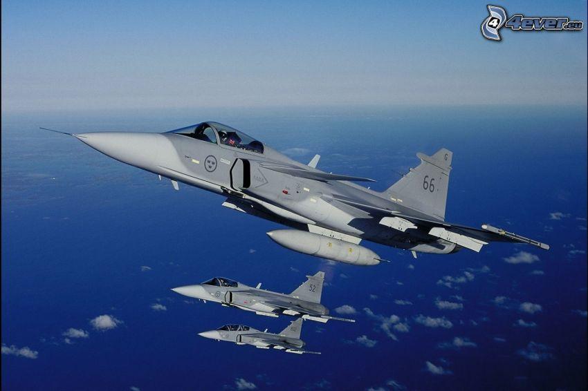 Saab JAS 39 Gripen, hav