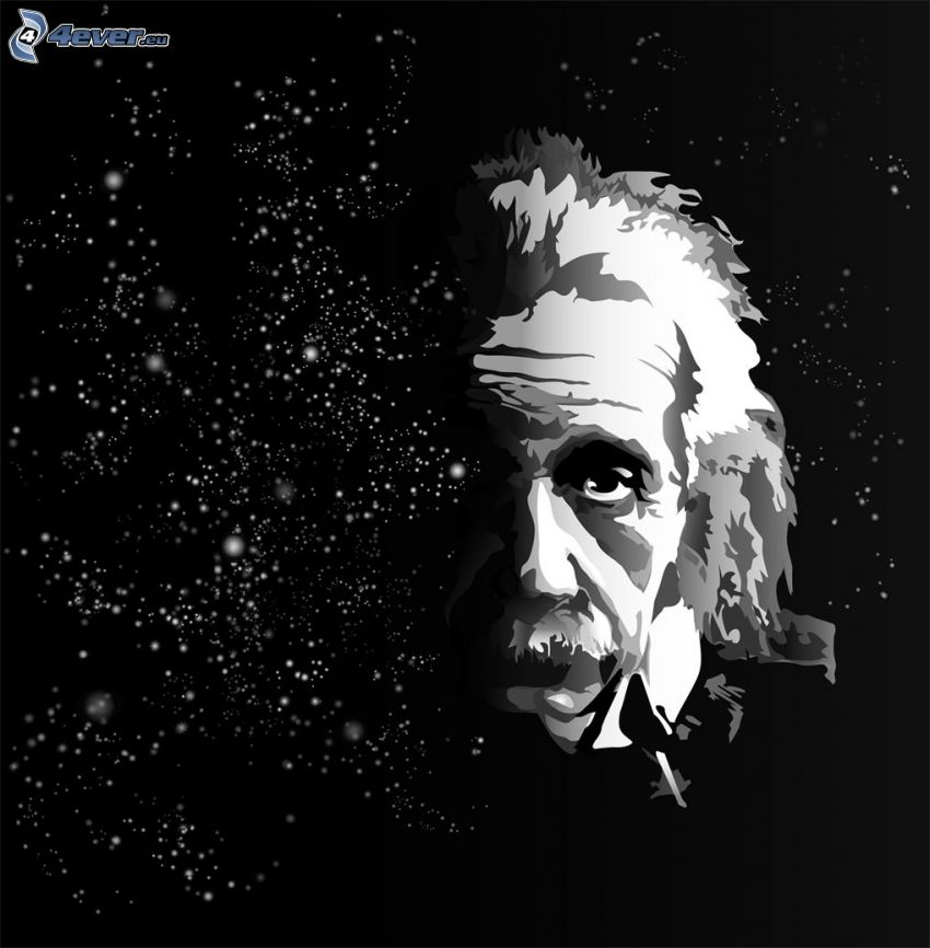 Albert Einstein, stjärnor