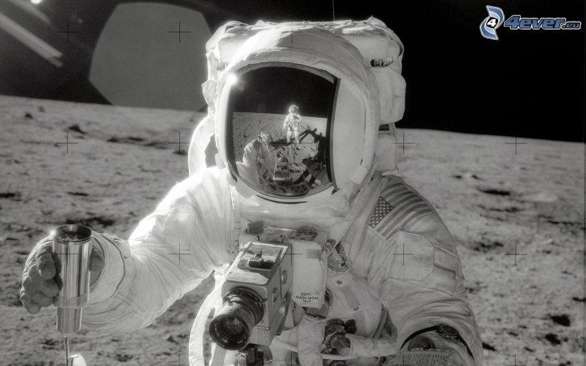 astronaut, Månen, Apollo 11