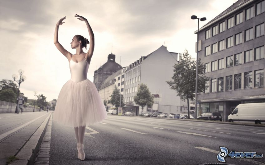 balettdansös, gata
