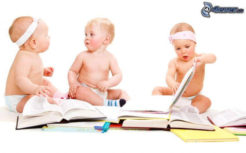 barn, böcker