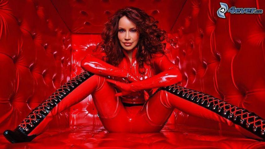 Bianca Beauchamp, röd