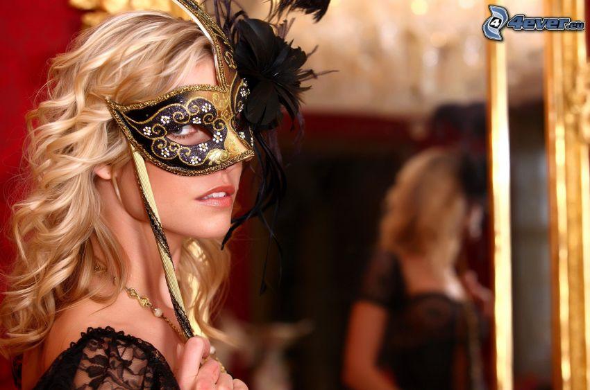 blondin, mask