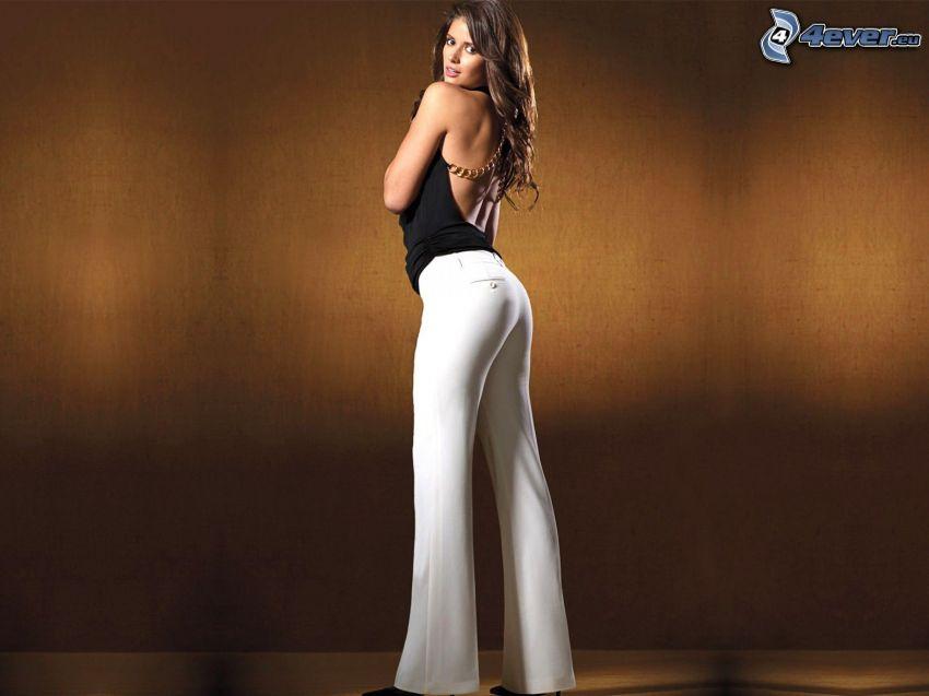 Carla Ossa, modell, långa ben