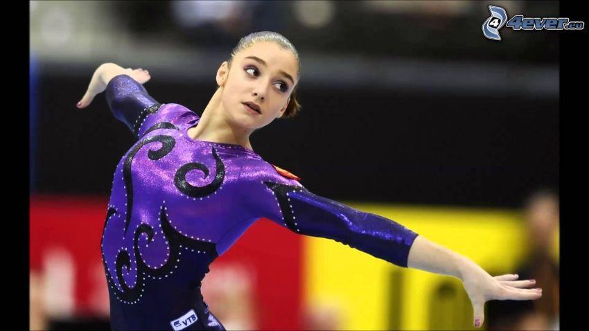Aliya Mustafina, gymnast