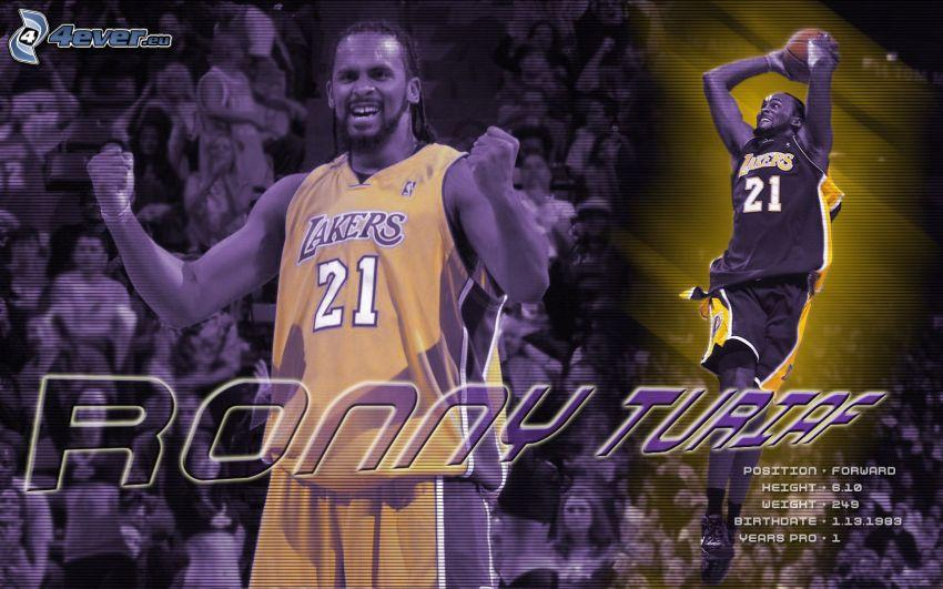 Ronny Turiaf, LA Lakers, NBA, basketbollsspelare, basket, sport, man, kille
