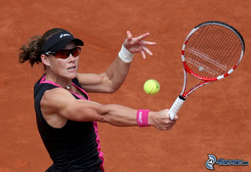 Samantha Stosur, tennisspelerska, tennisracket