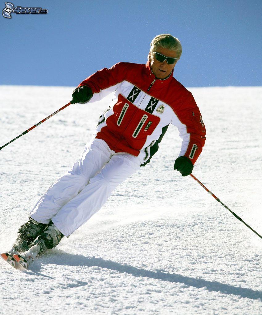 Stein Eriksen, skidåkare
