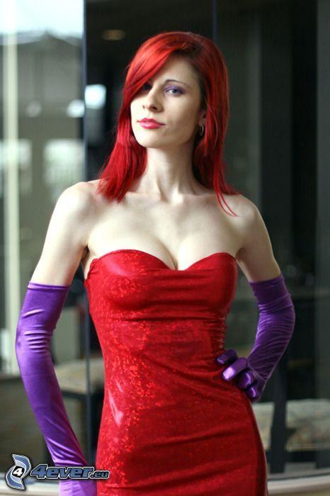rödhåring, modell