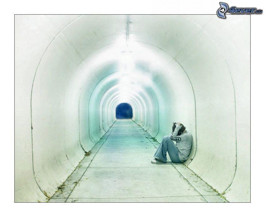 tjej, tunnel