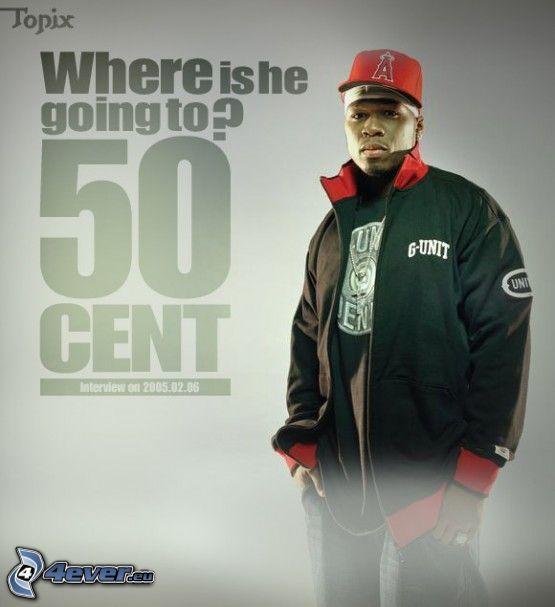 50 Cent, Curtis Jackson, hiphoppare