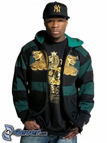 50 Cent, Curtis Jackson, sångare, mörkhyad man, man, rapper
