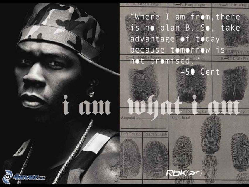 50 Cent, man, mörkhyad man, sångare