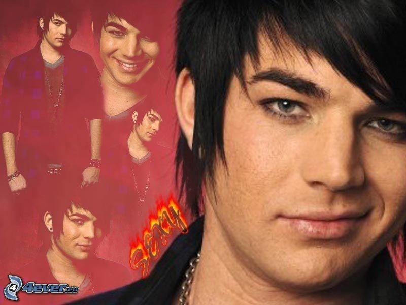 Adam Lambert, collage