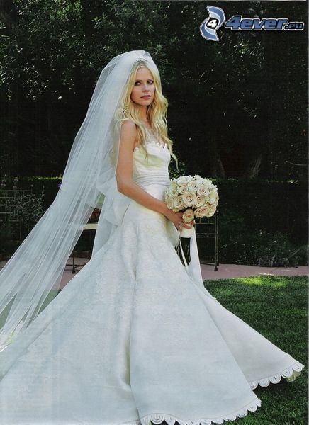 Avril Lavigne, brud