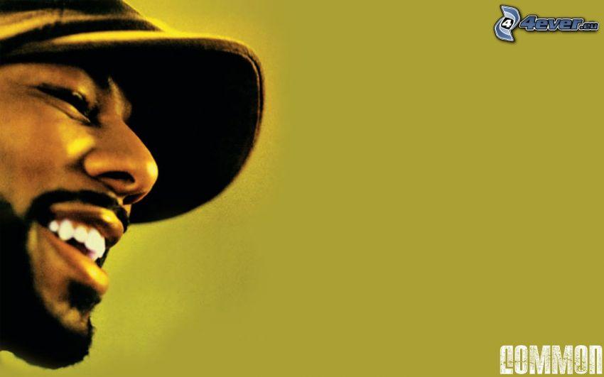 Common, rapper, mörkhyad man
