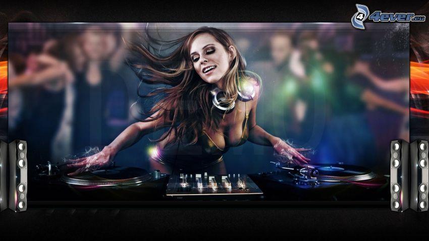 DJ, kvinna