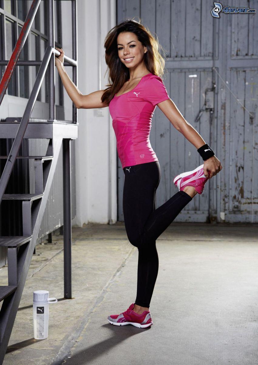 Fernanda Brandao, träning