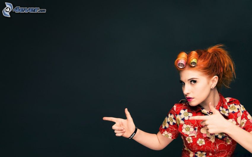 Hayley Williams, rödhårig