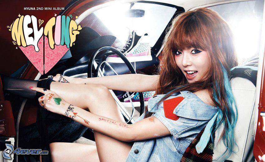 Hyuna - Melting, asiat