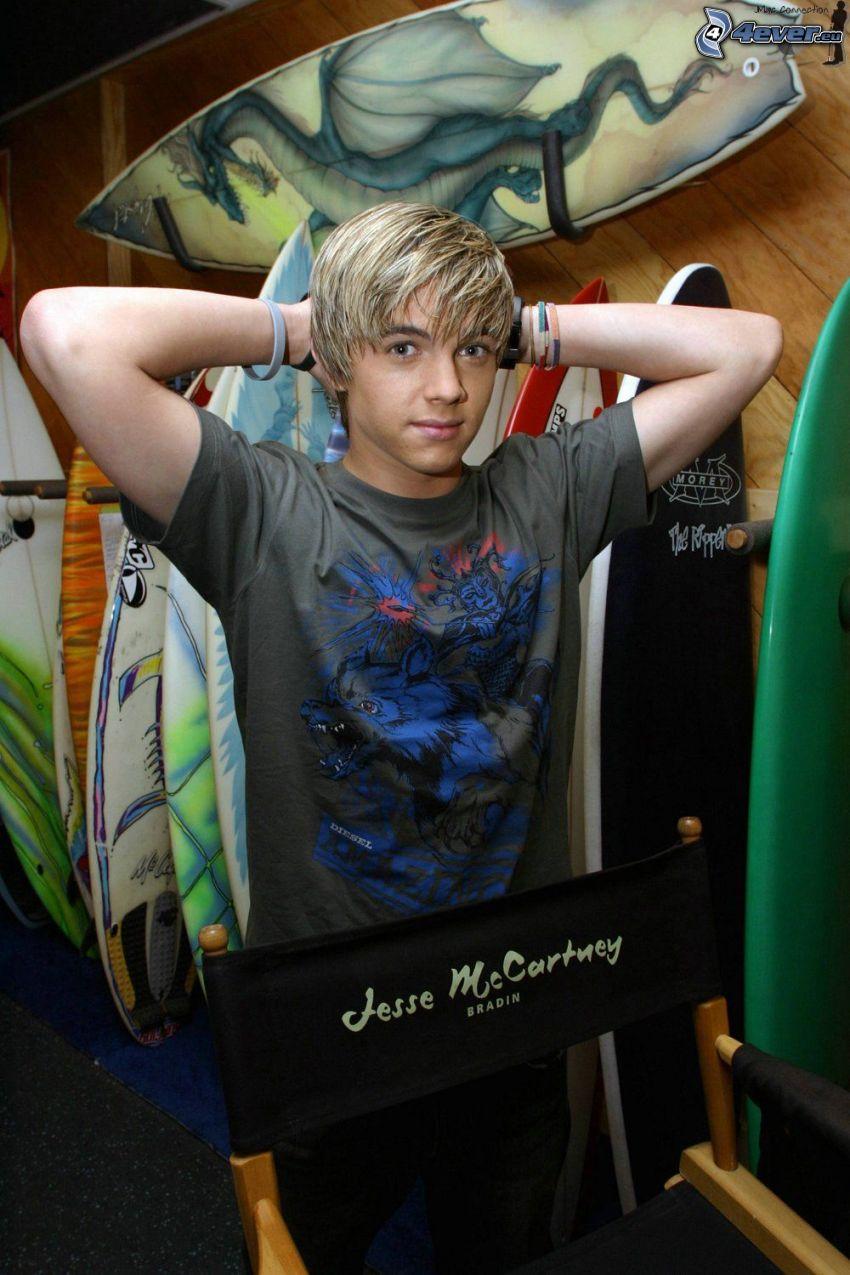Jesse McCartney, surf