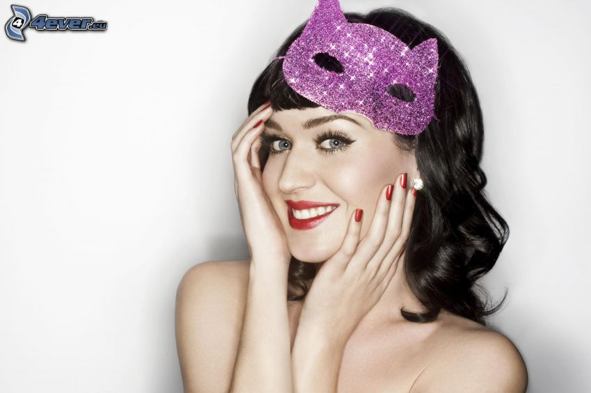 Katy Perry, mask
