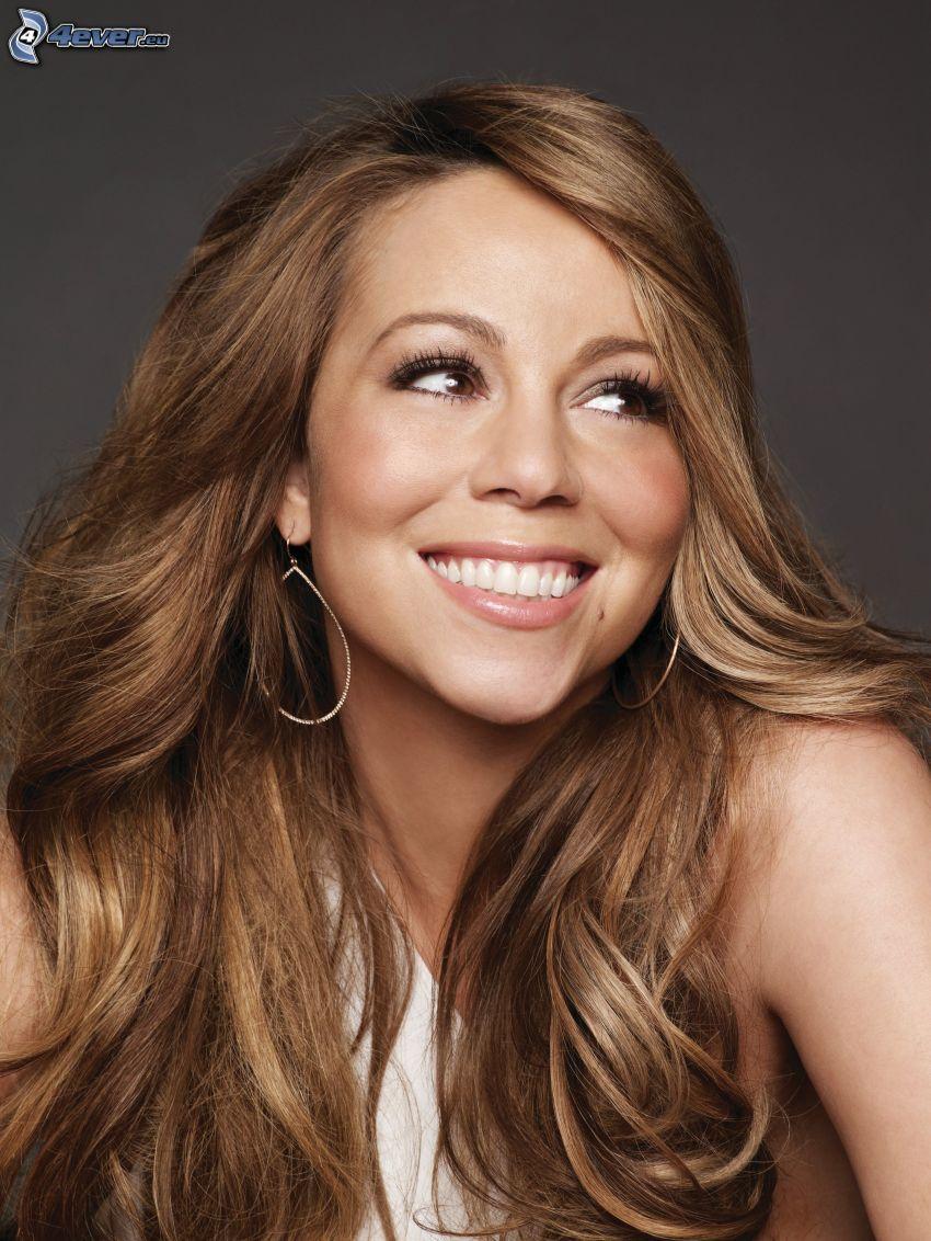 Mariah Carrey, leende, blick