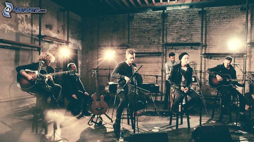 OneRepublic, gitarrer, sång