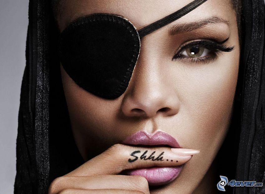 Shhh..., Rihanna, pirat