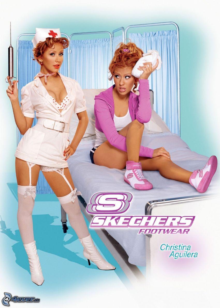 Skechers, Christina Aguilera