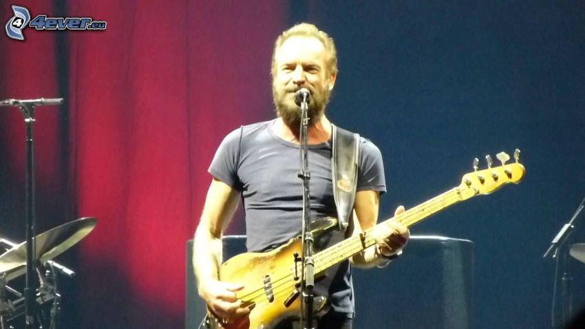 Sting, elgitarr