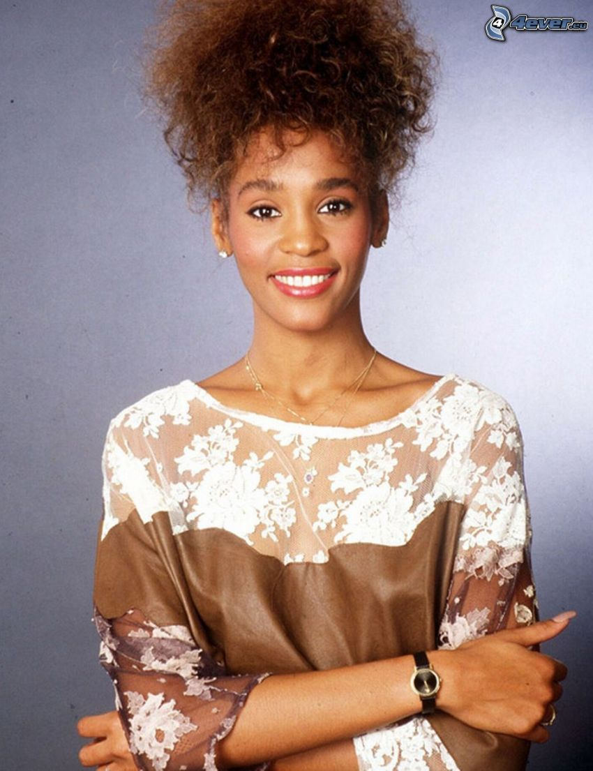 Whitney Houston, leende