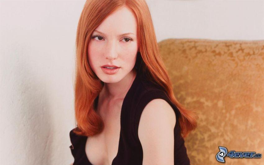 Alicia Witt, rödhårig