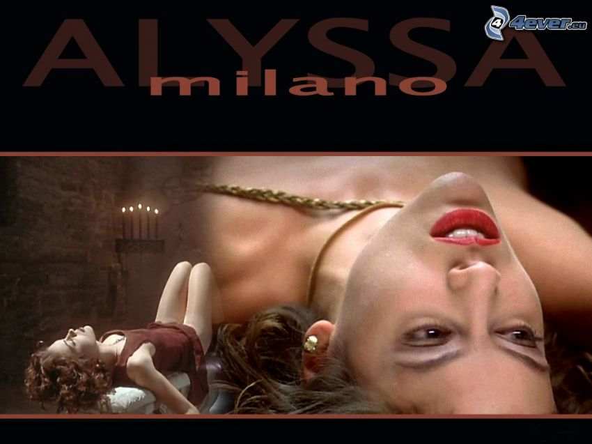 Alyssa Milano, Phoebe, häxor, Charmed, brunhårig kvinna