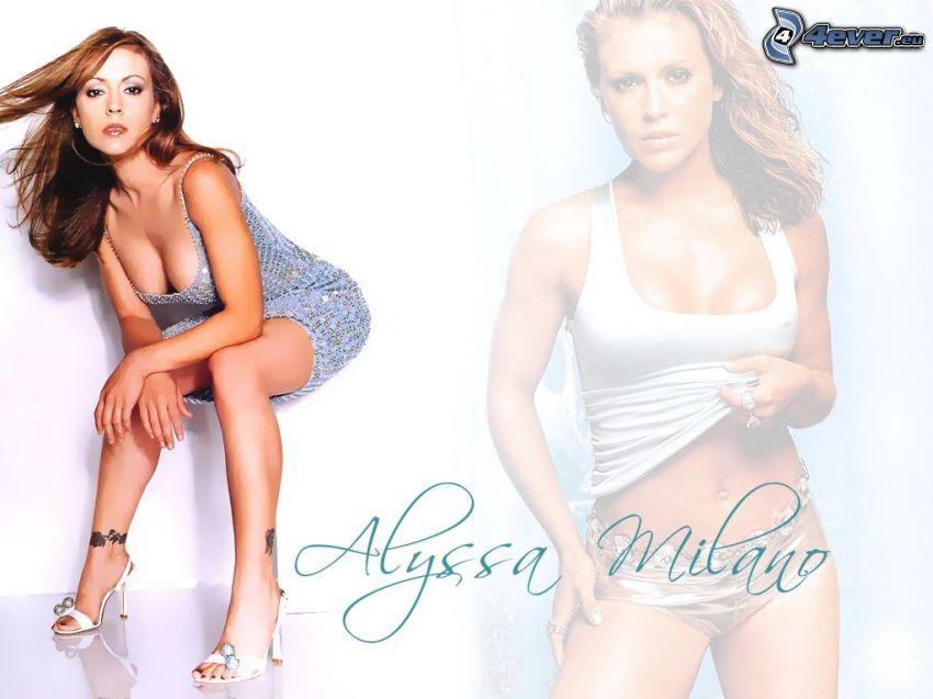 Alyssa Milano, Phoebe, häxor, Charmed
