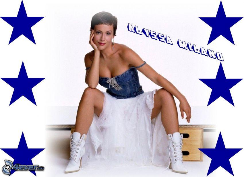 Alyssa Milano, skådespelerska, Phoebe, häxor, Charmed