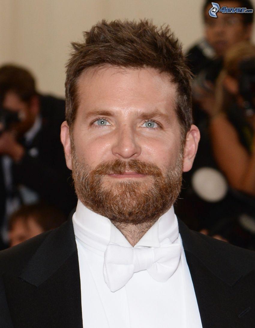Bradley Cooper, mustasch, man i kostym