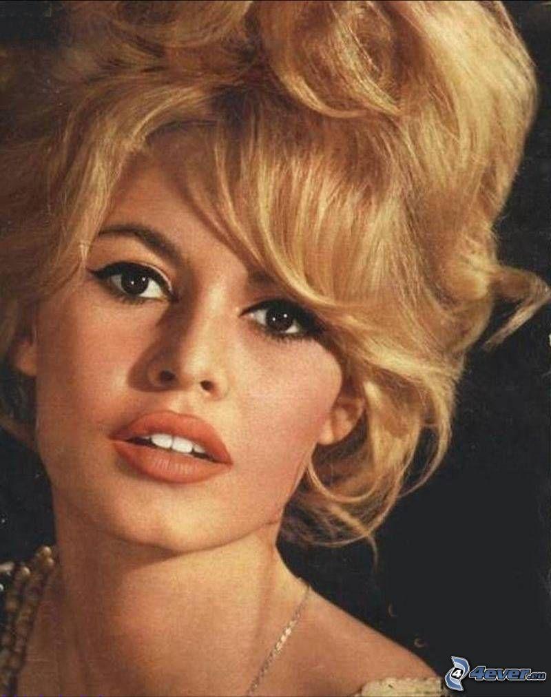 Brigitte Bardot, gammalt foto