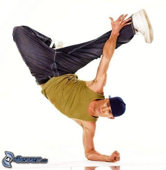 Channing Tatum, breakdance, dans
