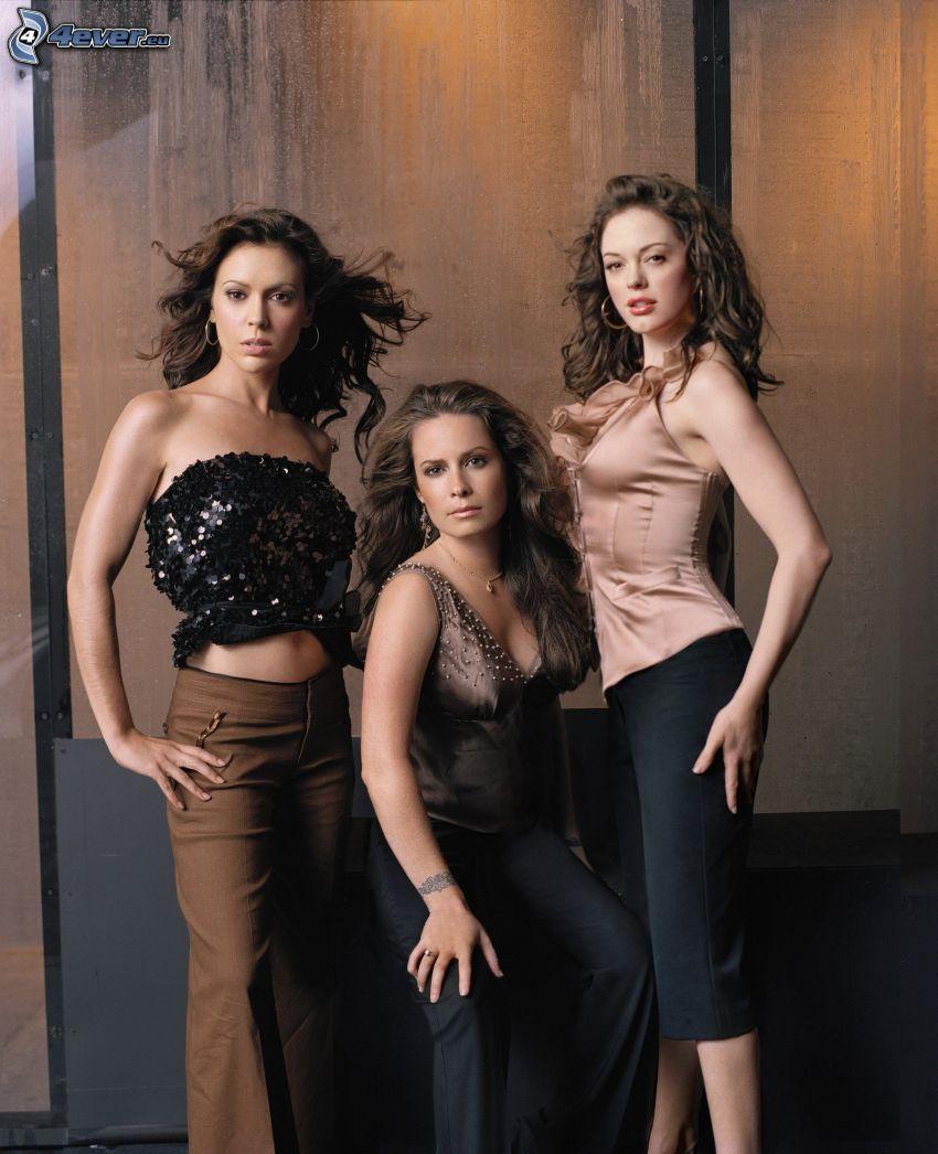 Charmed, Holly Marie Combs, Alyssa Milano, Rose McGowan